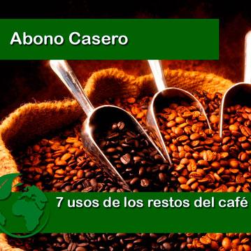 Usos del café en el huerto