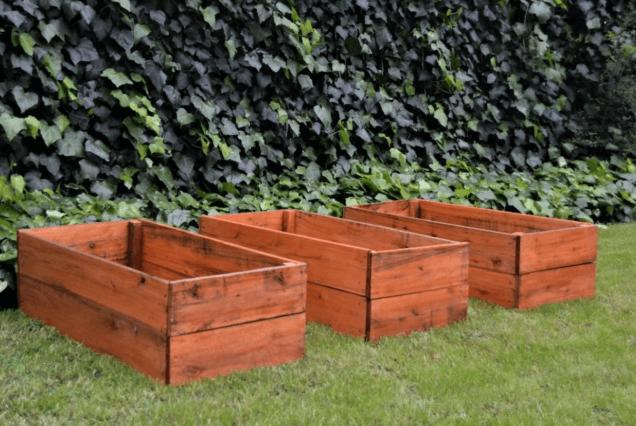 Huerta Urbana en cajones de madera
